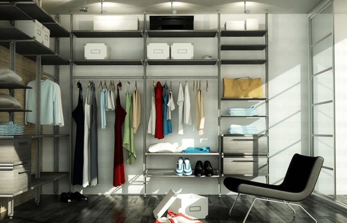 Гардеробные и шкафы купе Grosso